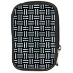 WOVEN1 BLACK MARBLE & ICE CRYSTALS (R) Compact Camera Cases