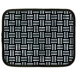 WOVEN1 BLACK MARBLE & ICE CRYSTALS (R) Netbook Case (XXL)