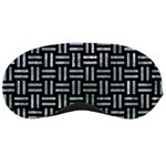 WOVEN1 BLACK MARBLE & ICE CRYSTALS (R) Sleeping Masks