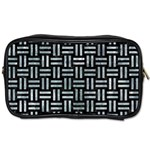 WOVEN1 BLACK MARBLE & ICE CRYSTALS (R) Toiletries Bags 2-Side