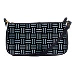 WOVEN1 BLACK MARBLE & ICE CRYSTALS (R) Shoulder Clutch Bags