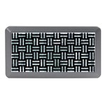 WOVEN1 BLACK MARBLE & ICE CRYSTALS (R) Memory Card Reader (Mini)