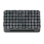 WOVEN1 BLACK MARBLE & ICE CRYSTALS (R) Memory Card Reader with CF