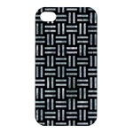 WOVEN1 BLACK MARBLE & ICE CRYSTALS (R) Apple iPhone 4/4S Premium Hardshell Case
