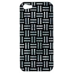 WOVEN1 BLACK MARBLE & ICE CRYSTALS (R) Apple iPhone 5 Hardshell Case
