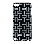 WOVEN1 BLACK MARBLE & ICE CRYSTALS (R) Apple iPod Touch 5 Hardshell Case