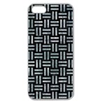 WOVEN1 BLACK MARBLE & ICE CRYSTALS (R) Apple Seamless iPhone 5 Case (Clear)