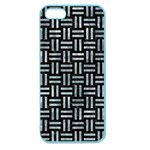 WOVEN1 BLACK MARBLE & ICE CRYSTALS (R) Apple Seamless iPhone 5 Case (Color)