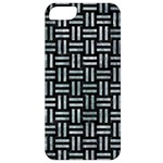 WOVEN1 BLACK MARBLE & ICE CRYSTALS (R) Apple iPhone 5 Classic Hardshell Case