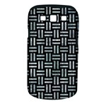 WOVEN1 BLACK MARBLE & ICE CRYSTALS (R) Samsung Galaxy S III Classic Hardshell Case (PC+Silicone)