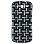 WOVEN1 BLACK MARBLE & ICE CRYSTALS (R) Samsung Galaxy S3 S III Classic Hardshell Back Case