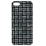 WOVEN1 BLACK MARBLE & ICE CRYSTALS (R) Apple iPhone 5 Hardshell Case with Stand