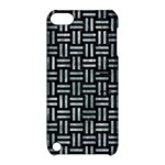 WOVEN1 BLACK MARBLE & ICE CRYSTALS (R) Apple iPod Touch 5 Hardshell Case with Stand