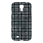 WOVEN1 BLACK MARBLE & ICE CRYSTALS (R) Samsung Galaxy S4 I9500/I9505 Hardshell Case