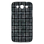WOVEN1 BLACK MARBLE & ICE CRYSTALS (R) Samsung Galaxy Mega 5.8 I9152 Hardshell Case