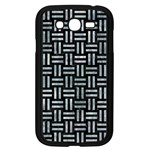WOVEN1 BLACK MARBLE & ICE CRYSTALS (R) Samsung Galaxy Grand DUOS I9082 Case (Black)