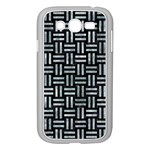 WOVEN1 BLACK MARBLE & ICE CRYSTALS (R) Samsung Galaxy Grand DUOS I9082 Case (White)