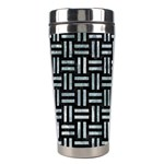 WOVEN1 BLACK MARBLE & ICE CRYSTALS (R) Stainless Steel Travel Tumblers