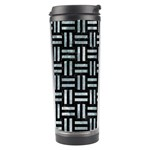 WOVEN1 BLACK MARBLE & ICE CRYSTALS (R) Travel Tumbler
