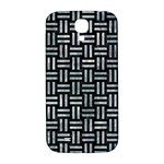 WOVEN1 BLACK MARBLE & ICE CRYSTALS (R) Samsung Galaxy S4 I9500/I9505  Hardshell Back Case