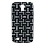 WOVEN1 BLACK MARBLE & ICE CRYSTALS (R) Samsung Galaxy Mega 6.3  I9200 Hardshell Case