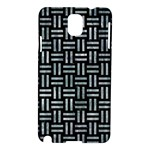 WOVEN1 BLACK MARBLE & ICE CRYSTALS (R) Samsung Galaxy Note 3 N9005 Hardshell Case