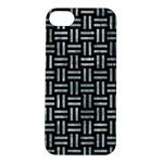 WOVEN1 BLACK MARBLE & ICE CRYSTALS (R) Apple iPhone 5S/ SE Hardshell Case