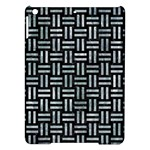 WOVEN1 BLACK MARBLE & ICE CRYSTALS (R) iPad Air Hardshell Cases