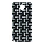 WOVEN1 BLACK MARBLE & ICE CRYSTALS (R) Samsung Galaxy Note 3 N9005 Hardshell Back Case