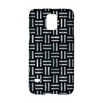 WOVEN1 BLACK MARBLE & ICE CRYSTALS (R) Samsung Galaxy S5 Hardshell Case