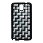 WOVEN1 BLACK MARBLE & ICE CRYSTALS (R) Samsung Galaxy Note 3 Neo Hardshell Case (Black)
