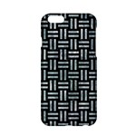 WOVEN1 BLACK MARBLE & ICE CRYSTALS (R) Apple iPhone 6/6S Hardshell Case