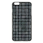 WOVEN1 BLACK MARBLE & ICE CRYSTALS (R) Apple iPhone 6 Plus/6S Plus Black Enamel Case