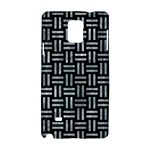 WOVEN1 BLACK MARBLE & ICE CRYSTALS (R) Samsung Galaxy Note 4 Hardshell Case