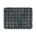 WOVEN1 BLACK MARBLE & ICE CRYSTALS (R) Double Sided Flano Blanket (Mini)