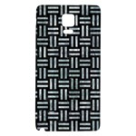 WOVEN1 BLACK MARBLE & ICE CRYSTALS (R) Galaxy Note 4 Back Case