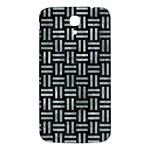 WOVEN1 BLACK MARBLE & ICE CRYSTALS (R) Samsung Galaxy Mega I9200 Hardshell Back Case
