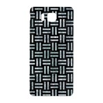 WOVEN1 BLACK MARBLE & ICE CRYSTALS (R) Samsung Galaxy Alpha Hardshell Back Case