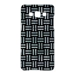 WOVEN1 BLACK MARBLE & ICE CRYSTALS (R) Samsung Galaxy A5 Hardshell Case