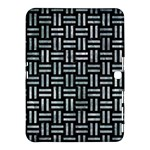 WOVEN1 BLACK MARBLE & ICE CRYSTALS (R) Samsung Galaxy Tab 4 (10.1 ) Hardshell Case