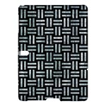 WOVEN1 BLACK MARBLE & ICE CRYSTALS (R) Samsung Galaxy Tab S (10.5 ) Hardshell Case