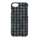 WOVEN1 BLACK MARBLE & ICE CRYSTALS (R) Apple iPhone 7 Hardshell Case