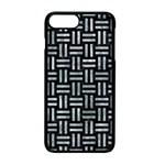 WOVEN1 BLACK MARBLE & ICE CRYSTALS (R) Apple iPhone 7 Plus Seamless Case (Black)