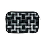 WOVEN1 BLACK MARBLE & ICE CRYSTALS (R) Apple MacBook Pro 13  Zipper Case