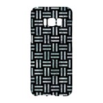 WOVEN1 BLACK MARBLE & ICE CRYSTALS (R) Samsung Galaxy S8 Hardshell Case