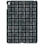 WOVEN1 BLACK MARBLE & ICE CRYSTALS (R) Apple iPad Pro 9.7   Black Seamless Case