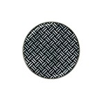 WOVEN2 BLACK MARBLE & ICE CRYSTALS (R) Hat Clip Ball Marker