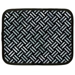 WOVEN2 BLACK MARBLE & ICE CRYSTALS (R) Netbook Case (XL)