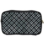 WOVEN2 BLACK MARBLE & ICE CRYSTALS (R) Toiletries Bags 2-Side