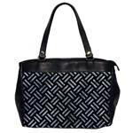 WOVEN2 BLACK MARBLE & ICE CRYSTALS (R) Office Handbags